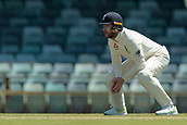 November 5th 2017, WACA Ground, Perth Australia; International cricket tour, Western Australia versus England, day 2; Gary Balance fields at silly mid on during day two of the tour match against Western Australia