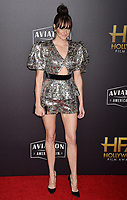 BEVERLY HILLS, CA - NOVEMBER 04: Shailene Woodley arrives at the 22nd Annual Hollywood Film Awards at the Beverly Hilton Hotel on November 4, 2018 in Beverly Hills, California.<br /> CAP/ROT/TM<br /> &copy;TM/ROT/Capital Pictures