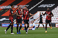 Jack Stacey of Bournemouth middle scores and celebrates during AFC Bournemouth vs Blackburn Rovers, Sky Bet EFL Championship Football at the Vitality Stadium on 12th September 2020