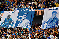 Chelsea fan murals seen during the Premier League match between Chelsea and Sheff United at Stamford Bridge, London, England on 31 August 2019. Photo by Carlton Myrie / PRiME Media Images.