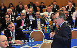 IHF-REPRO FREE IHF Conference Killarney: .Niall Gibbons of Tourism Ireland speaking at the IHF 75th anniversary conference in The Malton Hotel, Killarney on Tuesday..Picture by Don MacMonagle