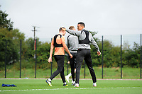 Martin Olsson of Swansea City during the Swansea City Training Session at The Fairwood Training Ground, Wales, UK. Tuesday 11th September 2018