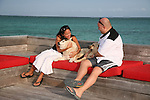 Azul Resort and Rojo Lounge on the beach at Ambergris Caye, Belize