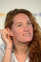 Camille Muffat (fra) .London 04/08/2012 .London 2012 Olympic games  - French House - Olimpiadi Londra 2012 - Casa Francia - I medagliati.Foto JB Autissier / Panoramic / Insidefoto.ITALY ONLY..