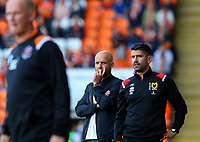 Milton Keynes Dons manager Paul Tisdale watches on<br /> <br /> Photographer Alex Dodd/CameraSport<br /> <br /> The EFL Sky Bet League One - Blackpool v MK Dons  - Saturday September 14th 2019 - Bloomfield Road - Blackpool<br /> <br /> World Copyright © 2019 CameraSport. All rights reserved. 43 Linden Ave. Countesthorpe. Leicester. England. LE8 5PG - Tel: +44 (0) 116 277 4147 - admin@camerasport.com - www.camerasport.com