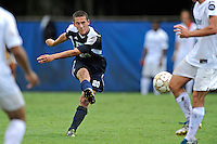 10 September 2011:  FIU's Roberto De Sousa (20) shoots in the second half as the FIU Golden Panthers defeated the Stetson University Hatters, 3-2 in the second overtime period, at University Park Stadium in Miami, Florida.