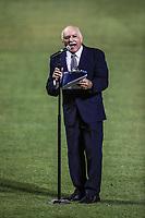 Emmanuel Torres, durante el d&iacute;a de apertura de la temporada de beisbol de la Liga Mexicana del Pacifico 2017 2018 con el partido entre Naranjeros vs Yaquis. 11 octubre2017 . <br /> (Foto: Luis Gutierrez /NortePhoto.com)