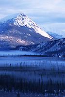 Snow covered mountains, Arctic Circle, Alaska