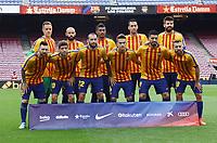BARCELONA, 02-10-2017. LaLiga 2017/ 2018, date 7. FC Barcelona 3-0 UD Las Palmas. FC Barcelona team group.<br /> Foto Sergio Ruiz/Pro Shots/Insidefoto