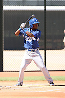 Casio Grider - Los Angeles Dodgers - 2010 Instructional League.Photo by:  Bill Mitchell/Four Seam Images..
