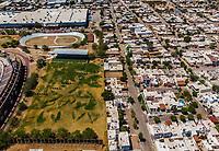 Vista aerea de Complejo deportivo de la Comisión Estatal de Deporte, CODESON en Hermosillo, Sonora....<br /> Estadio Héroe de Nacozari. <br /> Campo De Tiro Con Arco.<br /> Velodromo<br /> Pista de Atletismo <br /> <br /> Photo: (NortePhoto / LuisGutierrez)<br /> <br /> ...<br /> keywords: