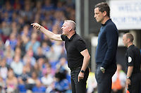 Paul Lambert, Manager of Ipswich Town shouts instructions to his team during Ipswich Town vs Sunderland AFC, Sky Bet EFL League 1 Football at Portman Road on 10th August 2019