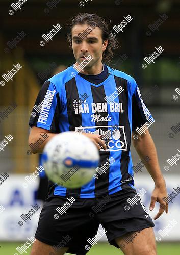 2010-08-15 / Voetbal / seizoen 2010-2011 / Rupel-Boom / Frank Magerman..Foto: mpics