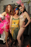 """Panama Red, Staci Layne Wilson, Tristan Risk<br /> On The Set Of Blanc/Biehn Production's """"Fetish Factory,"""" Private Location, Los Angeles, CA 05-11-14<br /> David Edwards/DailyCeleb.com 818-249-4998"""