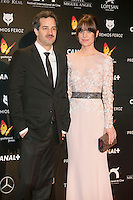 Alexandra Jimenez attends the Feroz Cinema Awards 2015 at Las Ventas, Madrid,  Spain. January 25, 2015.(ALTERPHOTOS/)Carlos Dafonte) /NortePhoto<br /> <br /> nortePhoto.com