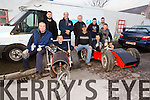 KILFLYNN Soap Box Derby on next Sunday in the Village. pictured Front left to right Jim Breen ,Mike McElligott,Tom McElligott,Thomas Chalk and John Byrne<br /> Back left to right Christopher Leahy,Fintan Leahy,Mike Parker,Ger Barrett and Mike Prenderville<br /> these men are from teams Rubber Technicians and Rolling Outlaws