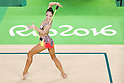 Kaho Minagawa (JPN), <br /> AUGUST 19, 2016 - Rhythmic Gymnastics : <br /> Individual All-Around Qualification Clubs  <br /> at Rio Olympic Arena <br /> during the Rio 2016 Olympic Games in Rio de Janeiro, Brazil. <br /> (Photo by Koji Aoki/AFLO SPORT)