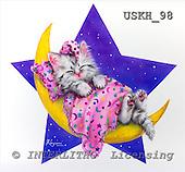 Kayomi, CUTE ANIMALS, paintings, USKH98,#AC# stickers illustrations, pinturas ,everyday