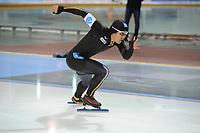 SPEEDSKATING: SALT LAKE CITY: 08-12-2017, Utah Olympic Oval, ISU World Cup, 500m Men B-Division, Joji Kato (JPN), ©photo Martin de Jong