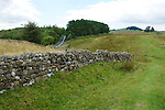 Day 2 - Walking toward Once Brewed; field wall, not Hadrian's Wall