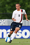 27 June 2008: The United States' Austin Oldham. The United States 2009 Under-17 Men's National Team lost to the Bridge FC U16s 1-3 at McPherson Stadium at Bryan Soccer Park in Brown's Summit, NC as part of the U.S. Soccer Federation Development Academy Summer Showcase which is part of the 2007-2008 regular season.