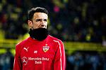 09.03.2019, Signal Iduna Park, Dortmund, GER, 1.FBL, Borussia Dortmund vs VfB Stuttgart, DFL REGULATIONS PROHIBIT ANY USE OF PHOTOGRAPHS AS IMAGE SEQUENCES AND/OR QUASI-VIDEO<br /> <br /> im Bild   picture shows:<br /> Christian Gentner (VfB Stuttgart #20) w&auml;rmt sich auf, <br /> <br /> Foto &copy; nordphoto / Rauch