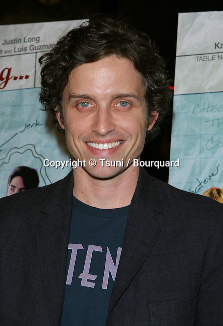 Robert Patrick Benedict arriving at the WAITING Premiere at the Bruin Theatre in Los Angeles. September 29, 2005.