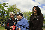 Normandy, WWII veteran Henry Hirschmann at the 70th Anniversary of D-DAY celebrations