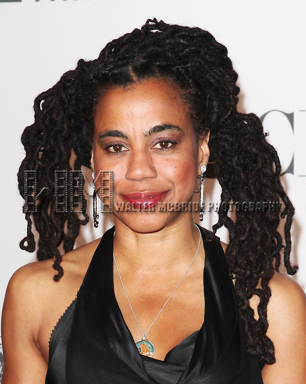 Suzan-Lori Parks pictured at the 66th Annual Tony Awards held at The Beacon Theatre in New York City , New York on June 10, 2012. © Walter McBride / WM Photography