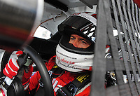 Nov. 13, 2009; Avondale, AZ, USA; NASCAR Sprint Cup Series driver Bobby Labonte during practice for the Checker O'Reilly Auto Parts 500 at Phoenix International Raceway. Mandatory Credit: Mark J. Rebilas-