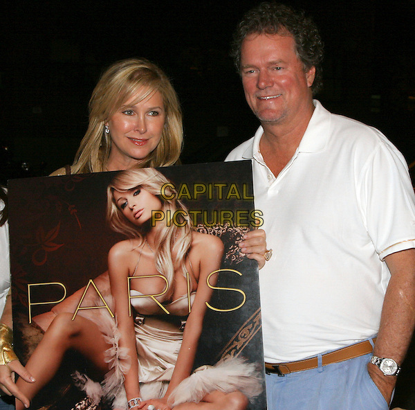 KATHY HILTON & RICK HILTON.At Paris Hilton's Record Signing - After Party, New York, NY, USA..August 16th, 2006.Ref: ADM/JL.half length married husband wife poster.www.capitalpictures.com.sales@capitalpictures.com.©Jackson Lee/AdMedia/Capital Pictures.