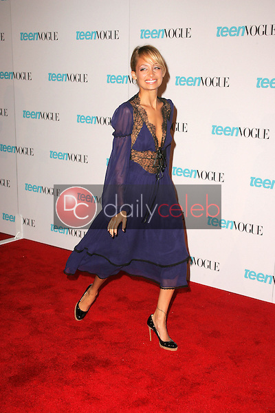 Nicole Richie<br /> At the release party for the Teen Vogue Young Hollywood Issue, The Hollywood Roosevelt Hotel, Hollywood, CA 09-20-05<br /> David Edwards/DailyCeleb.Com 818-249-4998