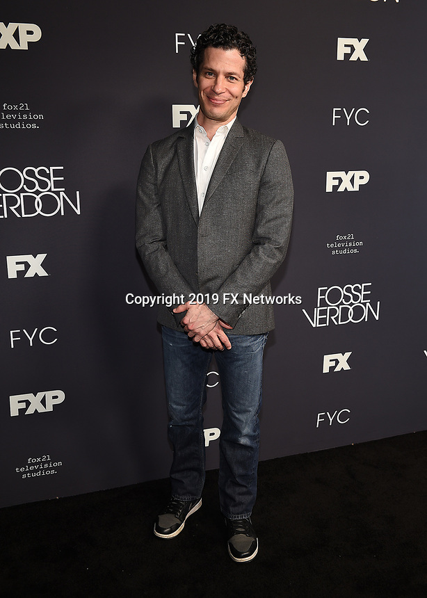 """LOS ANGELES - MAY 30: Director/Executive Producer Thomas Kail attends the FYC Event for Fox 21 TV Studios & FX's """"Fosse/Verdon"""" at the Samuel Goldwyn Theater on May 30, 2019 in Los Angeles, California. (Photo by Frank Micelotta/FX/PictureGroup)"""