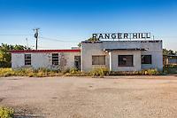 """Abandoned """"Ranger Hill"""" truck stop diner in Ranger, TX"""