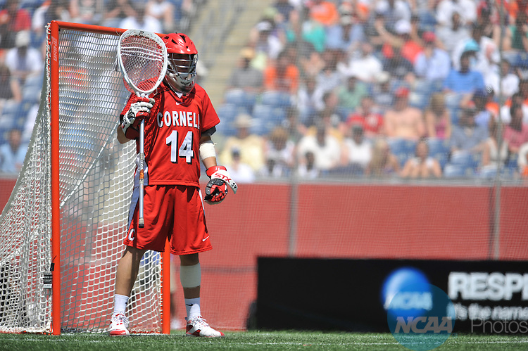 25 MAY 2009: Syracuse University plays Cornell University in the Division I Men's Lacrosse Championship held at Gillette Stadium in Foxborough, MA. Syracuse defeated Cornell 10-9 in overtime for the national title.  Larry French/NCAA Photos
