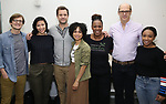 "John McGinty,  Julee Cerda, Joshua Jackson, Lauren Ridloff, Kecia Lewis, Anthony Edwards and Threshelle Edmond attends the cast photo call for the Broadway Revival of  ""Children of a Lesser God"" on February 22, 2018 at the Roundabout Rehearsal Studios in New York City."