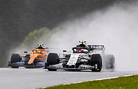 11th July 2020; Styria, Austria; FIA Formula One World Championship 2020, Grand Prix of Styria qualifying sessions; 10 Pierre Gasly FRA, Scuderia AlphaTauri Honda and 4 Lando Norris GBR, McLaren F1 Team, Spielberg Austria
