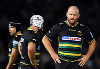 Ben Franks of Northampton Saints. Gallagher Premiership match, between Northampton Saints and Harlequins on September 7, 2018 at Franklin's Gardens in Northampton, England. Photo by: Patrick Khachfe / JMP
