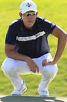 Byeong Hun An (KOR) at the 6th green during Saturday's Round 3 of the Waste Management Phoenix Open 2018 held on the TPC Scottsdale Stadium Course, Scottsdale, Arizona, USA. 3rd February 2018.<br /> Picture: Eoin Clarke | Golffile<br /> <br /> <br /> All photos usage must carry mandatory copyright credit (&copy; Golffile | Eoin Clarke)