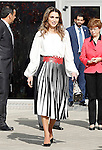 Queen Rania of Jordan visits the 'Severo Ochoa' Molecular Biology Centre at the Universidad Autonoma of Madrid. November 18, 2015. (ALTERPHOTOS/Acero)