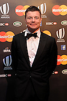 Brian O'Driscoll, joint winner of the IRPA award (with Nathan Sharpe) at the World Rugby Awards 2015  - 01/11/2015 - Battersea Evolution, London<br /> Mandatory Credit: Rob Munro/Stewart Communications
