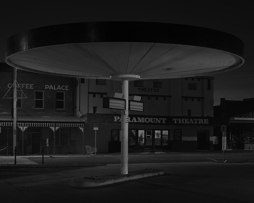 Old Service Station Shelter,<br /> Maryborough
