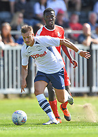 Preston North End's Billy Bodin in action during todays match  <br /> <br /> Photographer Dave Howarth/CameraSport<br /> <br /> Football Pre-Season Friendly - Bamber Bridge v Preston North End - Saturday 6th July 2019 - Sir Tom Finney Stadium - Bamber Bridge<br /> <br /> World Copyright © 2019 CameraSport. All rights reserved. 43 Linden Ave. Countesthorpe. Leicester. England. LE8 5PG - Tel: +44 (0) 116 277 4147 - admin@camerasport.com - www.camerasport.com