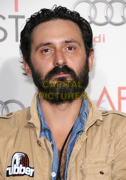 "QUENTIN DUPIEUX .Attends the AFI Fest 2010 Screening of ""The King's Speech"" held at The Grauman's Chinese Theatre in Hollywood, California, USA,.November 5th 2010..portrait headshot beard facial hair              .CAP/RKE/DVS.©DVS/RockinExposures/Capital Pictures."