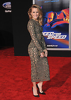 Shantel VanSanten at the U.S. premiere of &quot;Need for Speed&quot; at the TCL Chinese Theatre, Hollywood.<br /> March 6, 2014  Los Angeles, CA<br /> Picture: Paul Smith / Featureflash
