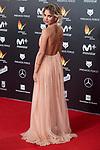 Ana Fernandez attends red carpet of Feroz Awards 2018 at Magarinos Complex in Madrid, Spain. January 22, 2018. (ALTERPHOTOS/Borja B.Hojas)