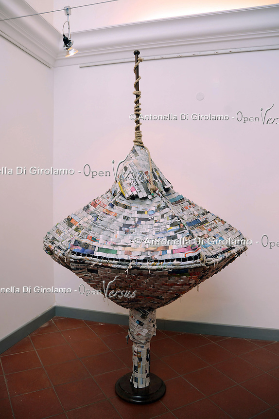 Opere di Lina Hakim, artista libanese.