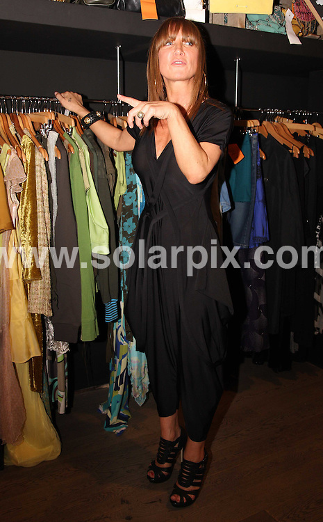 **ALL ROUND PICTURES FROM SOLARPIX.COM**.**WORLDWIDE SYNDICATION RIGHTS**.The ex-wife of Oasis guitarist, Meg Mathews does her part by helping out at Mary Porta's Living and Giving shop at The Village, Westfield Shopping Centre in London, UK. 23 June 2009.. .This pic: Meg Mathews..JOB REF: 9319 LNJ     DATE: 23_06_2009.**MUST CREDIT SOLARPIX.COM OR DOUBLE FEE WILL BE CHARGED**.**ONLINE USAGE FEE GBP 50.00 PER PICTURE - NOTIFICATION OF USAGE TO PHOTO @ SOLARPIX.COM**.**CALL SOLARPIX : +34 952 811 768 or LOW RATE FROM UK 0844 617 7637**