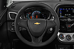 Car pictures of steering wheel view of a 2019 Chevrolet Spark LS Select Doors Door Hatchback