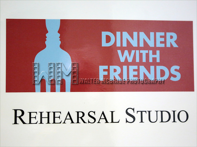 Photo Call for the Roundabout Theatre Company's 'Dinner with Friends' at their rehearsal studio on December 20, 2013 in New York City.
